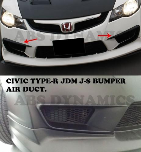 J's Racing Style Air Duct: FD2 Type-R style Front Bumper