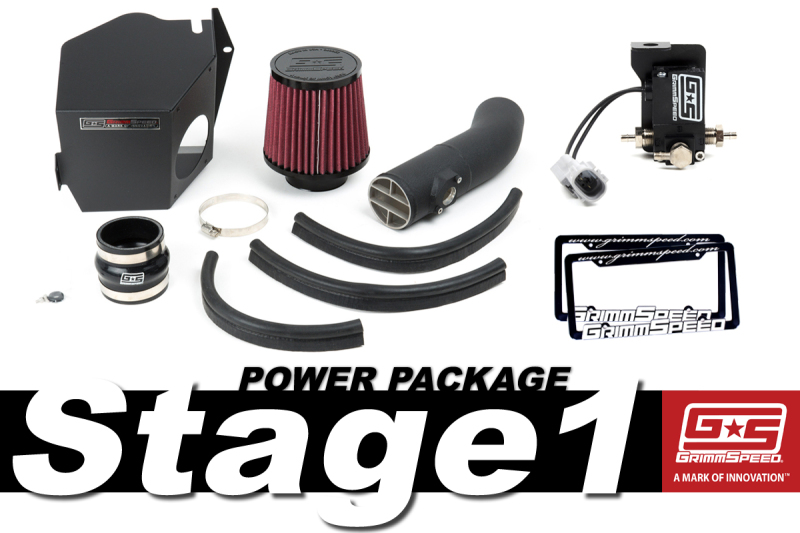 Grimmspeed Stage 1 Power Package: 08-14 Subaru WRX