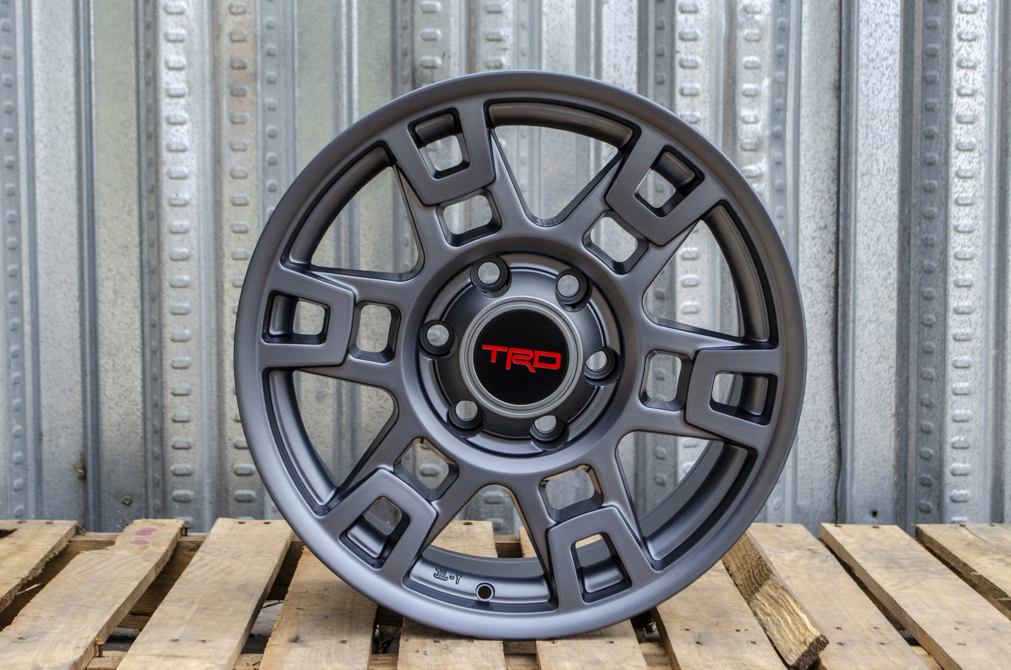 Alphasone Replica Wheels - TR1 (Matte Grey): Toyota