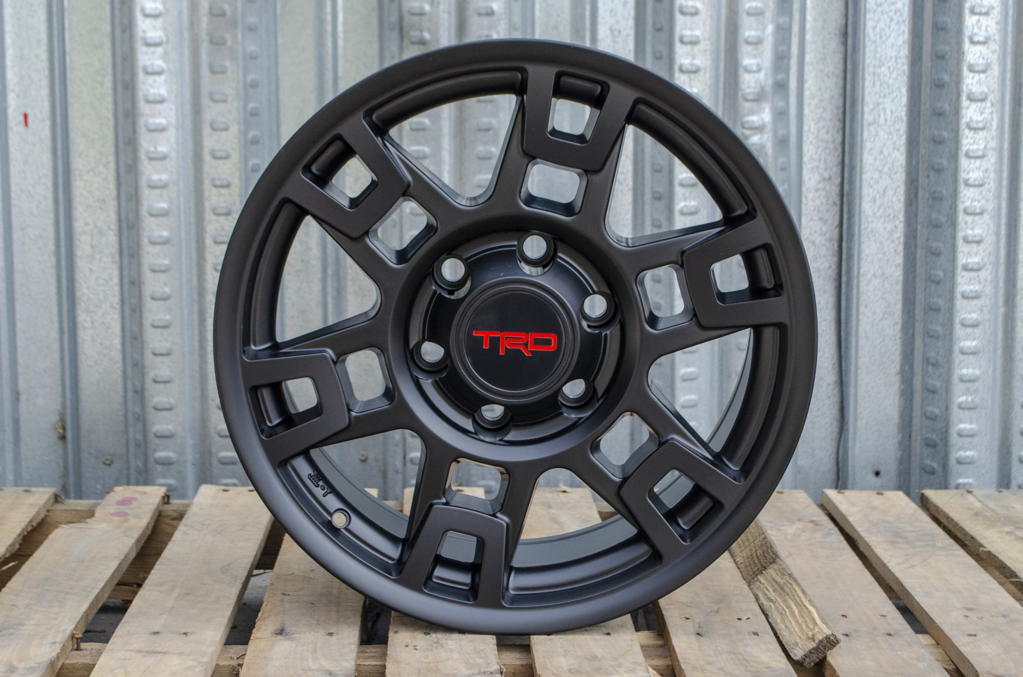 Alphasone Replica Wheels - Toyota TR1: Matte Black