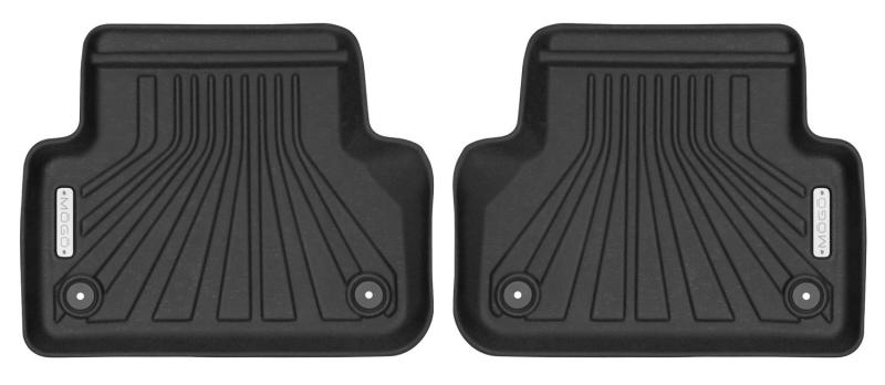 Husky Liners Mogo Floor Liners (Black - Back Row): 17-19 Audi A4 / S4