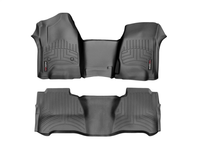 WeatherTech FloorLiner - Black:16-19 Honda Civic Coupe