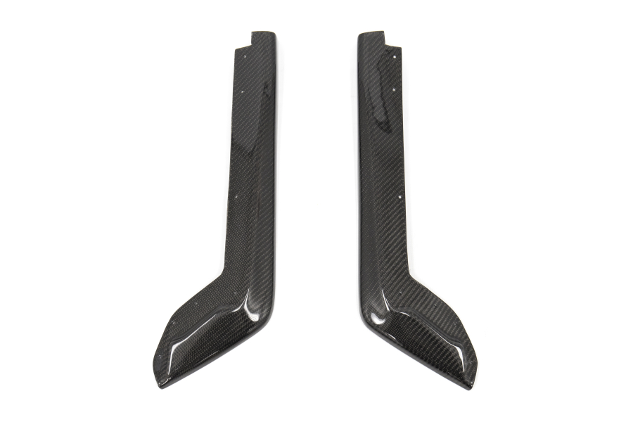 Carbon Reproductions Kyoto Style Dry Carbon Fiber Rear Spats - 15+Subaru WRX / STi