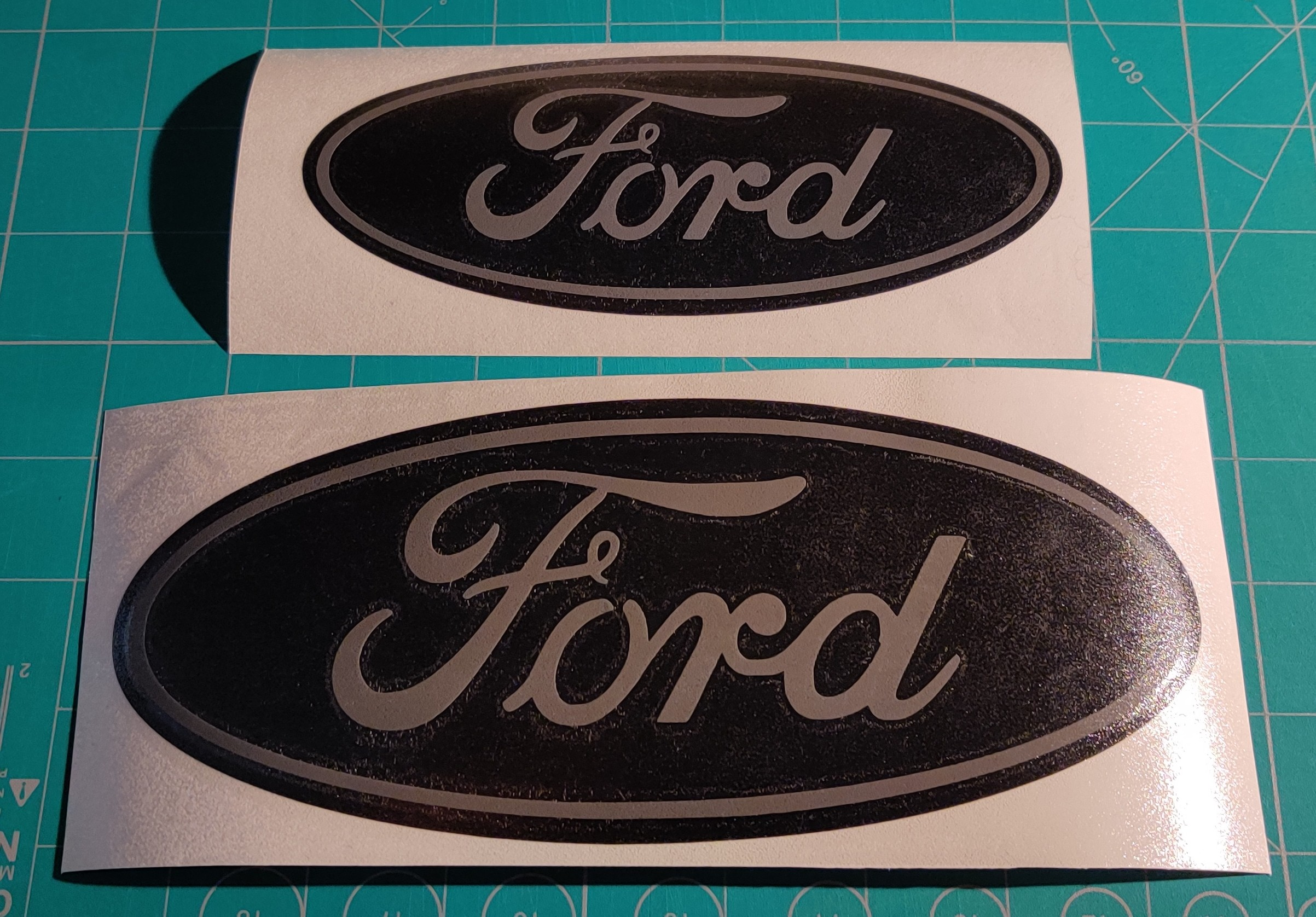 Ford Badge Vinyl Overlay