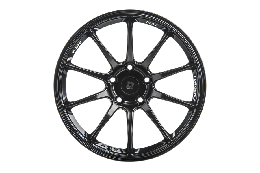 Titan 7 T-R10 (Machine Black): 18x9.5 +40 5x114.3