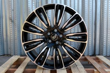 Alphasone Replica Wheels -Land Rover LR1: Gloss Black / Machined Face