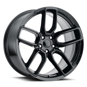 Alphasone Replica Wheels - Dodge SR2: Gloss Black