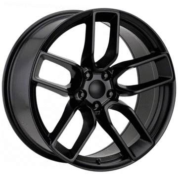 Alphasone Replica Wheels - Dodge SR2: Matte Black