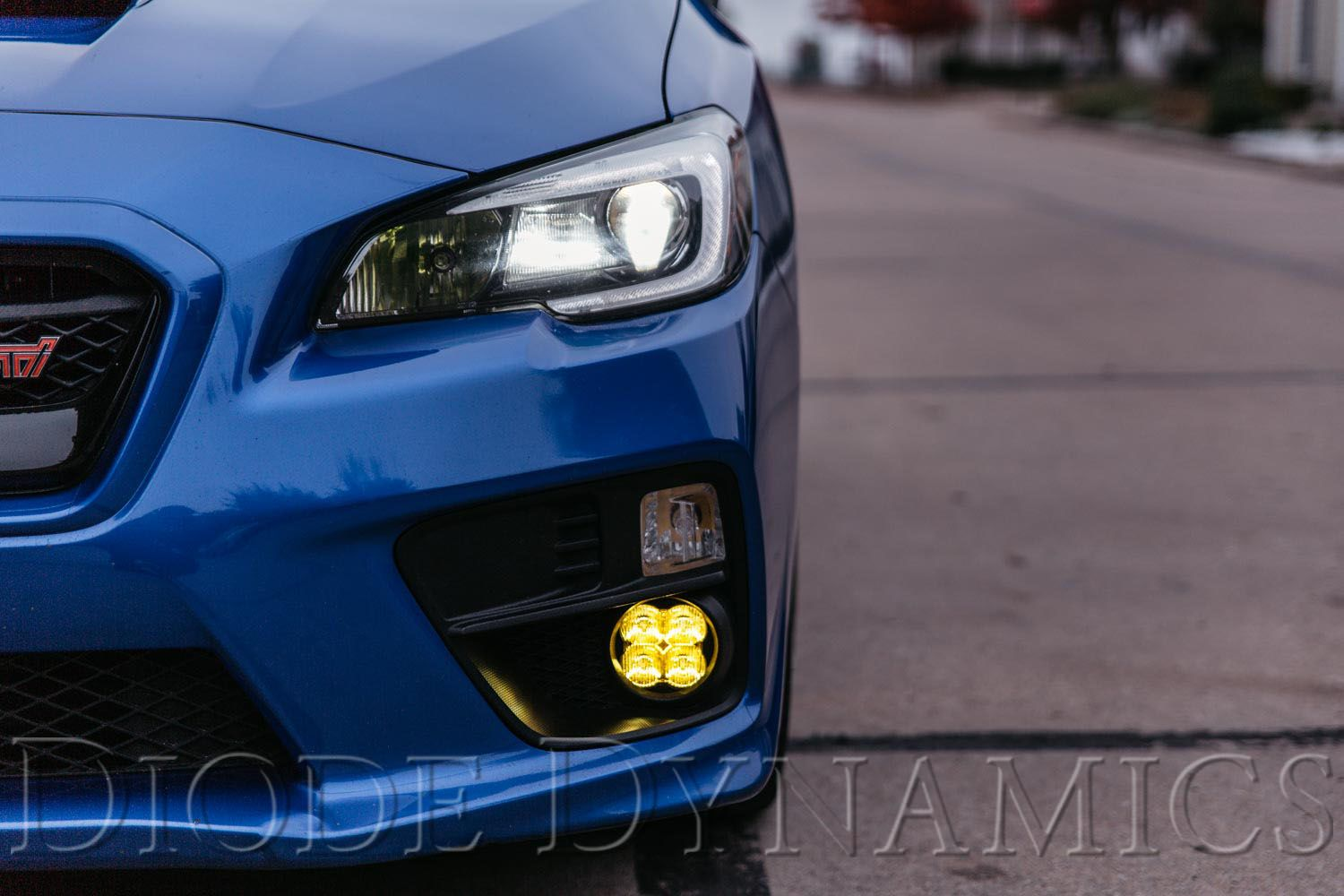 SS3 LED Fog Light Kit: 15-17 Subaru WRX/STi
