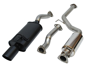 Vibrant StreetPower Catback Exhaust: 06-11 Honda Civic Si Coupe