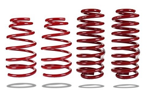 Pedders Sports Ryder Lowering Springs: 05-14 Ford Mustang