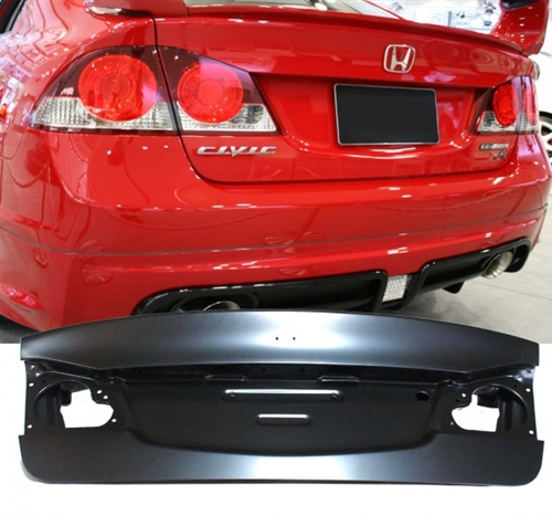 06-11 Honda Civic Sedan JDM Rear Trunk Lid