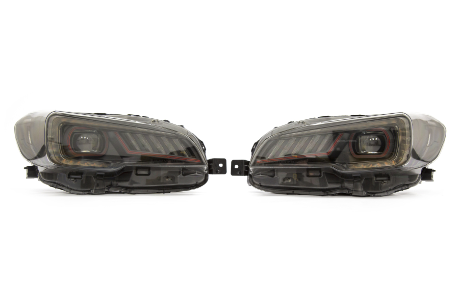 SubiSpeed Special Edition LED Headlights w/ DRL and Sequential Turns: 15-17 Subaru WRX / STi